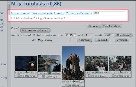 Screenshot - HappyFoto ZBERŇA